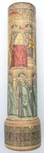 "Vintage Kaleidoscope Venice Italy Religious Medieval Imagery Latin 8"" Rare"