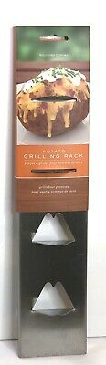 Williams Sonoma Grill 4 Potatoes Stainless Steel Potato Grilling Rack Brand