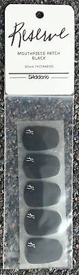 Reserve Mouthpiece Patches Black .80mm - 5-Pack  Patch Cushions Savers by Rico