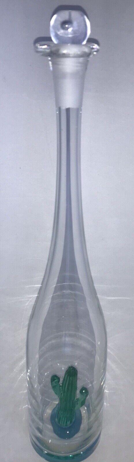 Tres Quatro Cinco Crystal Decanter Tequila bottle Limited 69/600 Alonso Gonzalez