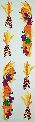 Mrs Grossman`s FALL  THANKSGIVING BORDER 1994 Stickers VINTAGE - Fall Border