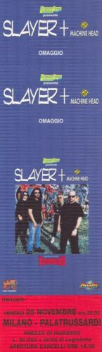 SLAYER original ticket live 1994 (BA.250)