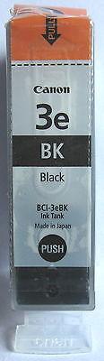 Canon BCI-3eBk Genuine Black Cartridge. New & Sealed.