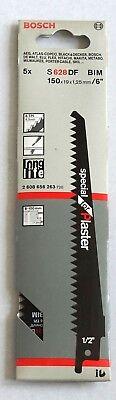 Bosch 2608656263 Säbelsägeblatt S 628 DF, Special for Plaster, 5er-Pack