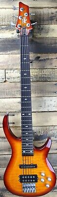 Rogue LX405 Series III Pro 5-String Electric Bass Guitar NEEDS REPAIR. #R5611