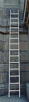 Alu Leiter,10 Sprossen, Anlegeleiter,  Länge 3,10 m,neu