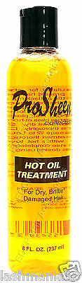 Pro Sheen Collection Hot Oil Treatment For Dry, Brittle Damaged Hair 237 ml