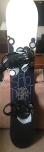 Snowboard with Boots Bindings & Bag