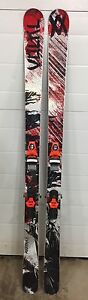 Volkl Mantra skis with Rossignol Axial 120 Bindings.