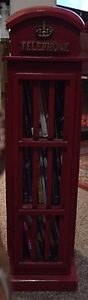 ENGLISH PHONE BOOTH DVD HOLDER