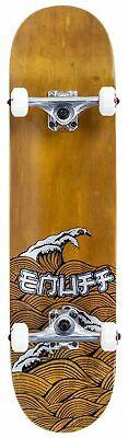 Enuff Skateboards Groß Wave Komplettes Skateboard 20.3cm, Brown
