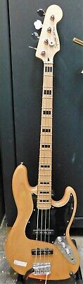 2010 Fender Squier Jazz Bass Natural FREE SHIPPING!