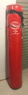 Boxing bag - full length Jim Bradley