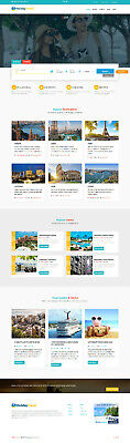 Wordpress Travel Site