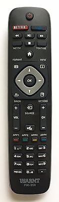 US NEW REMOTE PHI-958 FOR PHILIPS SMART TV URMT39JHG003 YKF340001 YKF340-001