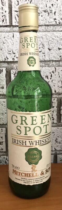 Green Spot Irish Whiskey - Empty 700 ml Bottle - Mitchell & Son, Dublin, Ireland