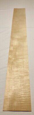 "Maple Figured Wood Veneer: 5 Sheets (47"" X 6"" "") 9.5 -"