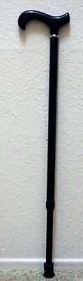 Black/Dark Gray Carbon Fiber Cane Mobility Aid Walking Stick, Adjustable, Strong for sale  Shipping to South Africa