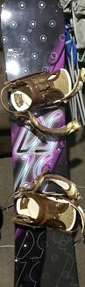 Prism one fifty one snowboard 148cm + Boots, Bindings & more