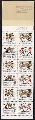 Sweden Stamp - 83 Christmas Stamp - NH