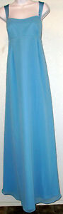 NWOT-Genuine-ALFRED-ANGELO-blue-jay-MATERNITY-bridesmaid-evening-dress-10-16