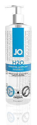 System Jo H2o Water Based Personal Sex Lubricant Lube 16Oz New Packaging