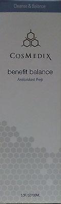 CosMedix Benefit Balance Antioxidant Prep - 3.3 oz / 100 ml (New In Box)