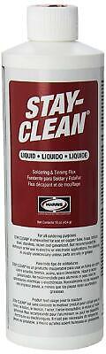 Harris Stay-clean Soldering Tinning Liquid Flux 16 Ounce Jar 40003 Sclf16