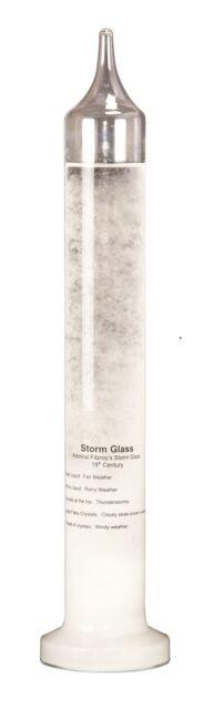*NEW* Heebie Jeebies Fitzroy's Storm Glass 28cm - 1685 HJ-6185