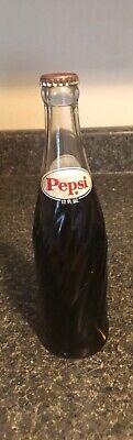 RARE Vintage 1960s Pepsi Bottle, Unopened, Bottled w/ piece of Equipment inside