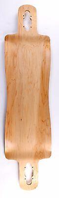 "40"" x 10"" Canadian Maple Drop Through Longboard Deck"
