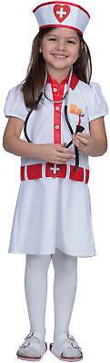 Krankenschwester Kinder Karneval Fasching Kostüm - Krankenschwester Kostüm Kind
