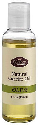 Olive Pure Carrier Oil 4oz Base Aromatherapy, Essential Oil or Massage B3G1