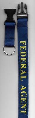 HOMELAND  SECURITY LANYARD ID Badge Holder Key Ring Federal