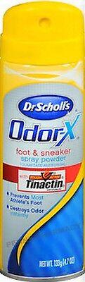 (Dr. Scholls ODOR X Foot & Sneaker Spray Powder 4.7oz )