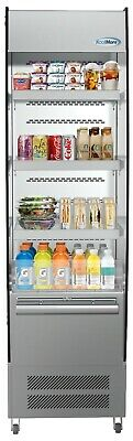 Open Air Merchandiser Cooler Grab And Go Refrigerator With Led Lighting