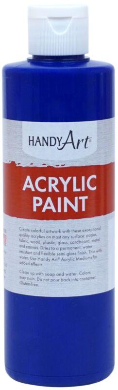 Handy Art Acrylic Paint 8oz-Ultra Blue