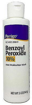 Perrigo Benzoyl Peroxide Acne Wash 10% 5oz