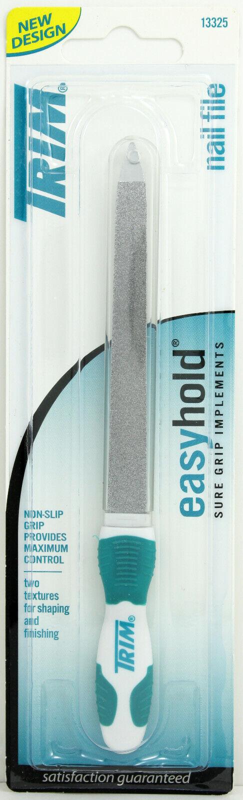 Trim Nail File w/ Easyhold Grip