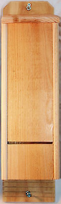 Double Chamber Cedar Bat House Hand Crafted Natural Pest Control