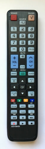 New Remote Control Aa59-00443a With Back Light For Samsung Lcd Led Smart Tv