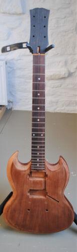 SALE: Rare Honduras Mahogany & African Mahogany SG Electric Guitar CourierOption