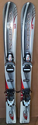 Edge Junior Ski Boots - 93 cm Rossignol Edge junior skis bindings + Salomon ski boots, kids size 11