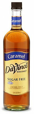 4 Ounce Caramel - DaVinci Gourmet Coffee Syrup, Sugar Free Caramel, 25.4 Fluid Ounce (Pack Of 4)