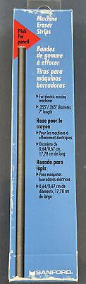 Sanford Machine Eraser Strips For Electric Erasers 8 Sticks - 75215  #74 - Pink