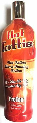HOT TOTTIE Tingle Sizzle Indoor Tanning Bed Lotion By Pro Tan HOT HOT HOT!!! Indoor Tanning Bed Lotion