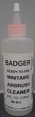 BADGER MINITAIRE AIRBRUSH CLEANER 4fl OZ
