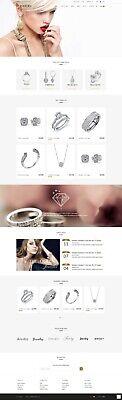 Jewelry Store Custom Website Design To Grow Business Online Shop Seo Responsive