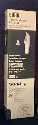 Braun ThermoScan PC 200 Ear Thermometer Probe Covers Welch Allyn pro 4000 -