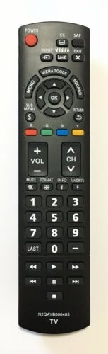 "New Usbrmt Replacement Tv Remote Control N2qayb000485 For Panasonic 32""~85"" Tvs"